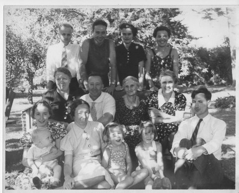Mom and family circa 1935ish