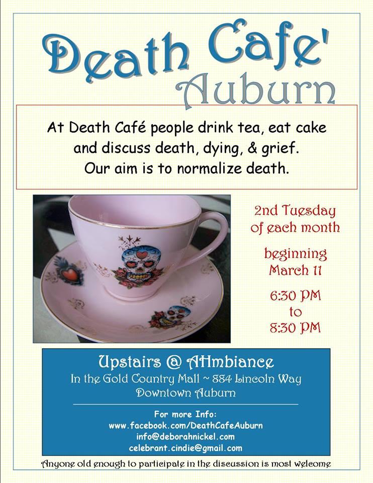 Death Cafe Auburn poster