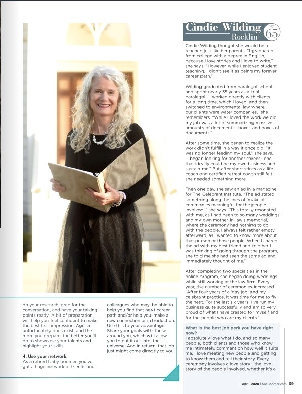 Boomer Magazine article 4.20